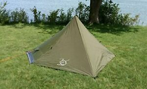 River Country Products One Person Trekking Pole Tent Ultralight Backpacking T...