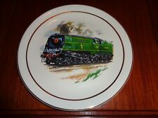 Collectors Plate SIR WINSTON CHURCHILL Steam Train