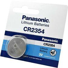 2 X PANASONIC CR2354 DL2354 E-CR2354  Battery Lithium Nominal Voltage 3V