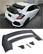 For 16-Up Honda Civic Hatchback FK4 FK7 | JDM MUGEN Style Rear Roof Wing Spoiler