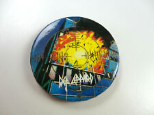 Vintage Def Leppard Button from 80s Pyromania