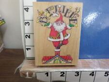believe santa mary englebreit rubber stamp 30t