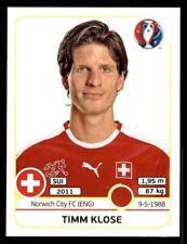 Panini euro 2016 Timm Klose Suiza no. 106