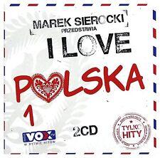 marek sierocki przedstawia: i love polska 1 (cd 2 disc) 2016 neu