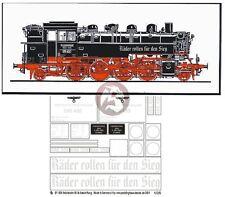 Peddinghaus 1/35 BR 86 Deutsche Reichsbahn Steam Locomotive Markings WWII 1858