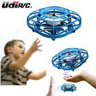 UDIRC U58 Flying Ball Drone for Kids Hand Operated Mini Drone Toys Fan Mode Blue
