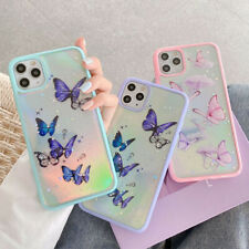 Girl's Butterfly Sparkle Laser Case Cover F iPhone 11 Pro Max XS Max XR 7 8 Plus