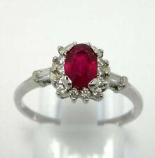 Anelli di lusso di rubino misura anello 14