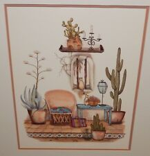 """CAROL JEAN CAT IN WINDOW HAND SIGNED IN PENCIL LARGE LITHOGRAPH 22"""" x 28"""""""