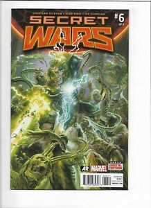 Secret Wars #6 Marvel Comics 2015 VF+