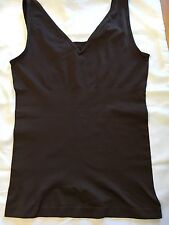Yummies by Heather Thomson 2 Way Tank Top Shaper  - Black - size - L/XL