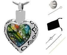 Funeral cremation Urn,Memorial Cremation Jewelry,Pendant,Urn,Keepsake,Silver 07