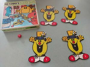 MR FUNNY'S PUZZLE GAME - MS 1979 (FREE P&P) COMPLETE