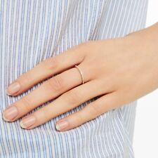Adina Reyter Pave Diamond Ring Rose Gold Size 5 $398