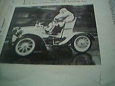 ephemera picture 1953 london brighton rally the sloans 1902 benz
