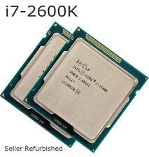 2x Intel Core i7-2600K CPU Quad Core 8-Thread 3.4GHz 8M SR00C LGA 1155 Processor