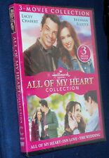 All Of My Heart - Hallmark 3-Movie Collection DVD -  NEW SEALED - Lacey Chebert
