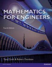 Mathematics for Engineers with MyMathLab Global by Tony Croft, Robert Davison...