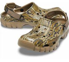 Crocs Mens Offroad Sport Mossy Oak Bottomland Clog Size 11