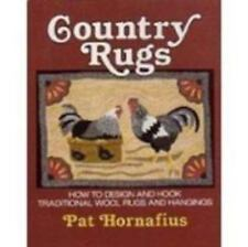 Country Rugs: How to Design and Hook Traditional Wool Rugs and-ExLibrary
