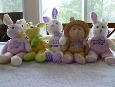 lot Mary Meyer gertrude hawk plush bunny limited edition 2000-4 collectable tag