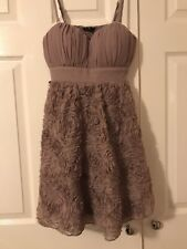 Strapless Nude dress Size 10