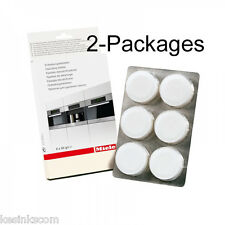 2 Packages Miele 05626050 6Pack Descaling Tablets Original 12 total