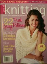 Love of Knitting 22 Fresh Spring Patterns 13 Fab Acces. Spring 2015 FREE SHIP