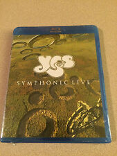 Yes - Live In Amsterdam Blu Ray New Sealed Out Of Print