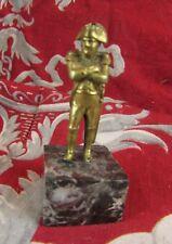 ancienne petite statue sculpture en bronze epoque XIXe Napoleon 1er bonaparte