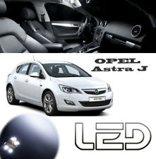 OPEL Astra J Pacchetto 11 Lampadine a LED Bianco illuminazione luce interna