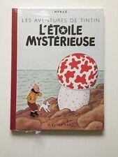TINTIN - L'ETOILE MYSTERIEUSE - FAC SIMILE COULEUR NEUF 2005 HERGE CASTERMAN BD