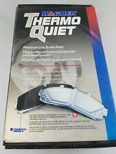 NIB! WAGNER THERMO QUIET Ceramic Brake Pads PD1028 Replaces WD1028