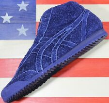 ONITSUKA Tiger Asics Mexico 66 Mid SAMPLE Unreleased Navy Blue Suede Running - 9