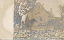 St. Johnsville NY * Klock Fort RPPC  ca 1905 * Rev. War 1780  Montgomery Co.