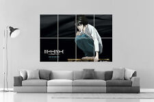 "Deat Note ""L"" anime Manga Wall Art Poster Great format A0 Wide Print"