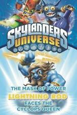 NEW Skylanders Universe The Mask of Power Lightning Rod Faces the Cyclops Queen