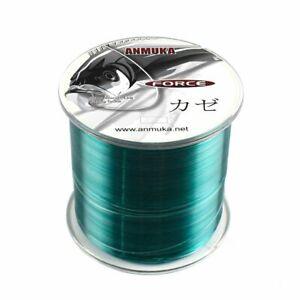 Nylon Fishing Line 500m Super Pull Japanese Durable Monofilament Rock Sea Line