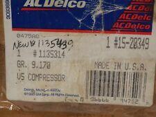 GM #1135314 OEM-A/C Compressor acdelco 15-20349 grand am/cavalier free shipping