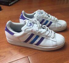 Adidas Superstar 2 purple/blue/white 10.5 M