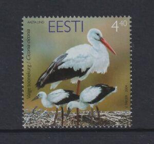 Estonia - 2004, 4f40 Endangered Species, White Stork Bird stamp - MNH - SG 460