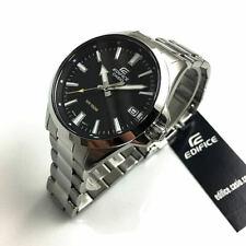 Men's Casio Edifice Silver Stainless Steel Watch EFV100D-1AV