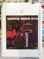 CHRISTMAS Country Style (8-Track Tape)