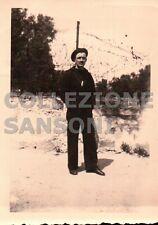 FOTO DEGLI ANNI '30 / '40 MILITARE REGIA MARINA  - C10-372