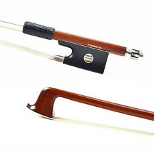 *MASTER* Sterling Silver Fitted PERNAMBUCO Violin Bow WARM & SWEET Tone 4/4 New!