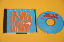 FRANK ZAPPA 2CD YOU CAN'T DO THAT ON STAGE VOL 4 ORIG FRANCIA EX