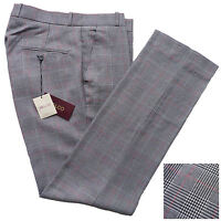 Relco Prince of Wales Check Sta Press Trousers Mod Skin Retro Stay Pressed POW
