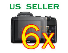 6x Nikon Coolpix L120 Clear LCD Screen Protector Guard Cover Film