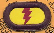 75th Inf Airborne Ranger LRP LRRP para oval patch #7
