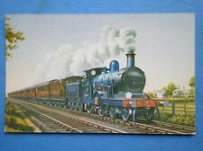 POSTCARD GER DOWN 'NORFOLK COAST EXPRESS' HAULED BY OIL BURNING LOCO NO 11
